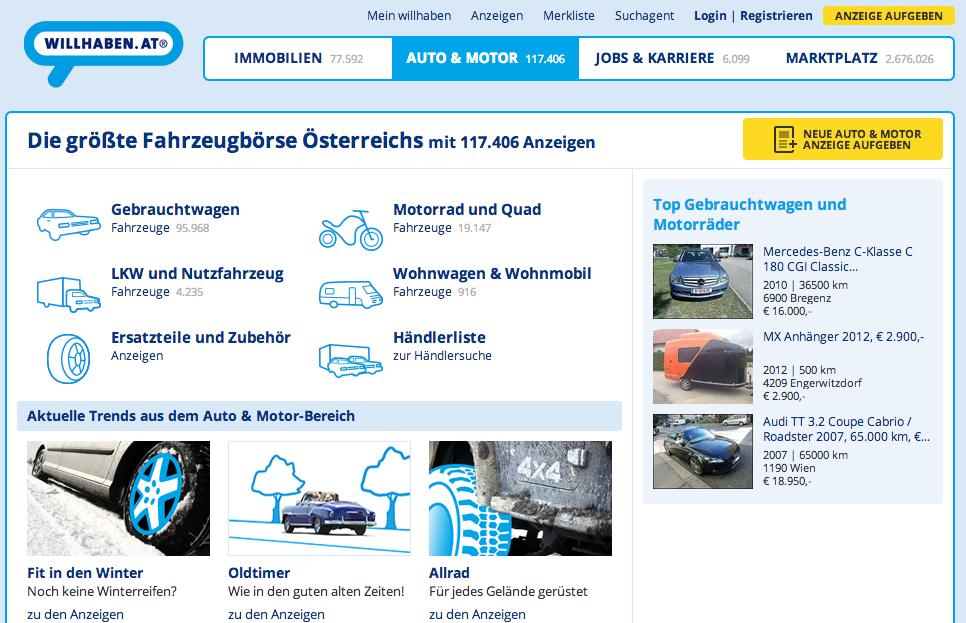 Top 10 Gebrauchtwagen Börsen In österreich
